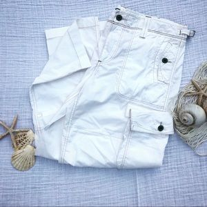 Ralph Lauren Polo Jeans Co. Vtg. white Cargo Pants